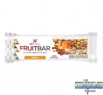 Barretta a base di frutta Fruit Bar Keforma