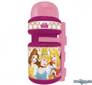borraccia bicicletta bambina princess disney