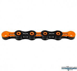 KMC catena X-11 SL DLC Super Light nero-arancio