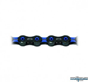 KMC catena X-10 SL DLC Super Light nero-blu